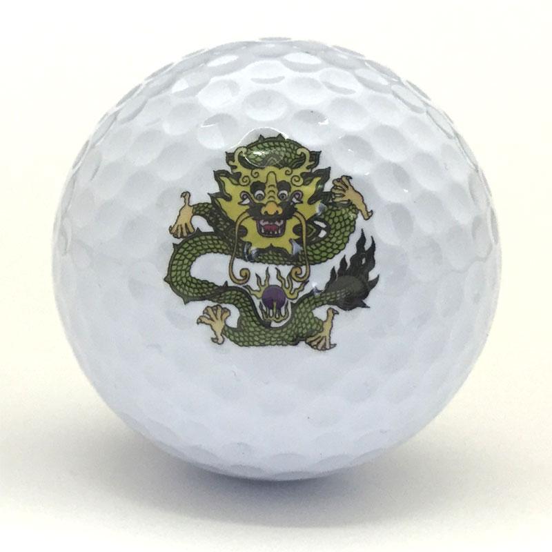 イラストプリントゴルフボール